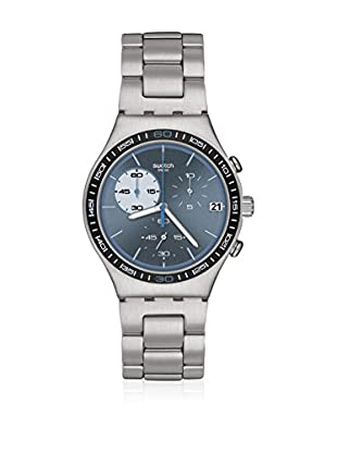 Swatch Quarzuhr Unisex Unisex Blue Wink 40 mm