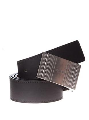 Springfield Cinturón Chapón Reversible Vestir (negro)