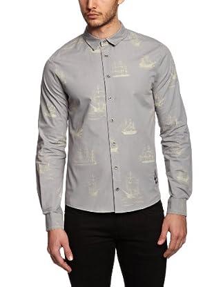 BOLONGARO TREVOR Camisa Geoffrey (Gris)