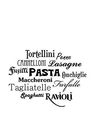 Ambiance Sticker Wandtattoo Italian Pasta Names