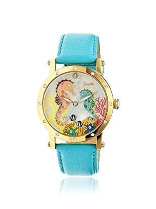 Bertha Women's BR4203 Morgan Turquoise/Multi Leather Watch