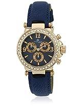 Dk10155Rglbl-Blue/Blue Analog Watch Daniel Klein