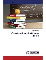 Construction of Attitude Scale