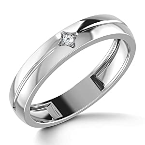 Keith Platinum Ring for Him