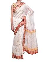 DAZZLE Dori Embellished Chanderi Saree