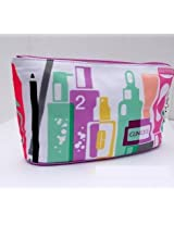 CLINIQUE Beauty Makeup Travel Cosmetic LARGE Bag [Misc.]