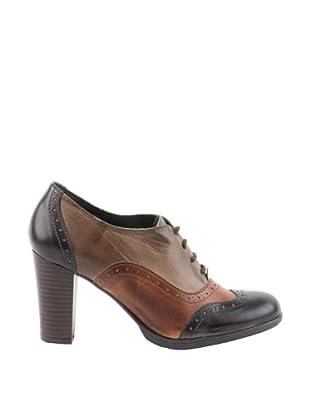 Liberitae Zapatos Blucher (Marrón)
