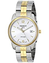 Tissot Analog White Dial Men's Watch - T0494102203700