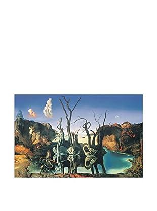 Artopweb Wandbild Dalì Il Riflesso Dei Cigni Genera L'Immagine Degli Elefanti, 1937