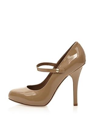 Dolce & Gabbana Zapatos Charol Pulsera Elástica (Beige)