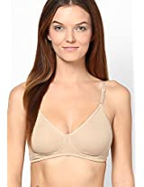 Nude Underwired-Non Padded Bra Hanes