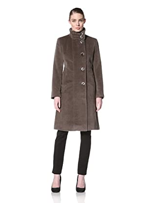 Jones New York Women's Single-Breasted Coat (Straw)