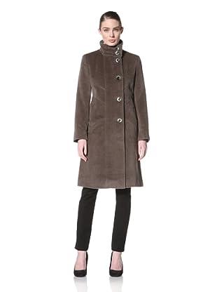 Jones New York Women's Single-Breasted Coat (Straw)