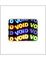 Ospac Void Hologram Stickers, 20 x 15 Mm, Pack of 6300