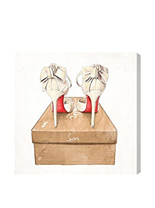 Oliver Gal Wed Bliss Shoes Canvas Art