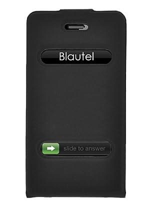 Blautel iPhone 4/4S Funda 4-Ok Slim Fit V Negro