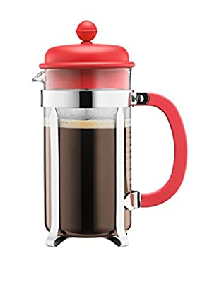 Bodum Cafetera French Press 8 Cups 1 L Rojo