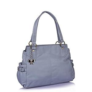 Butterflies Stylish Look Shoulder Bag (Blue)_BNS 0434