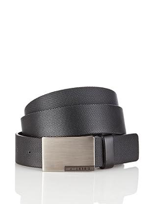 MOMODESIGN Cinturón Cervere (Negro)