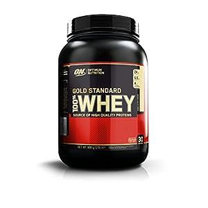 Optimum Nutrition (ON) 100% Whey Gold Standard - 2 lbs (Banana Cream)