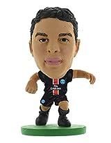 Soccer Starz Paris Saint Germain Thiago Silva, Blue/Green