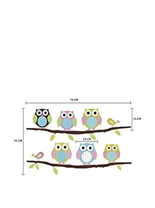 Lo+Demoda Wandtattoo Owls And Birds
