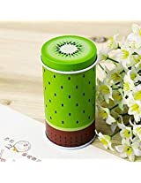 Fresh Fruit Cylinder Mini Storage Tea Box Coffee Tin