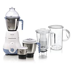 Philips HL1643 600-Watt 5 Jar Super Silent Vertical Mixer Grinder