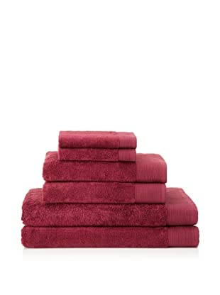 Schlossberg Sensitive 6 Piece Towel Set (Cherry)