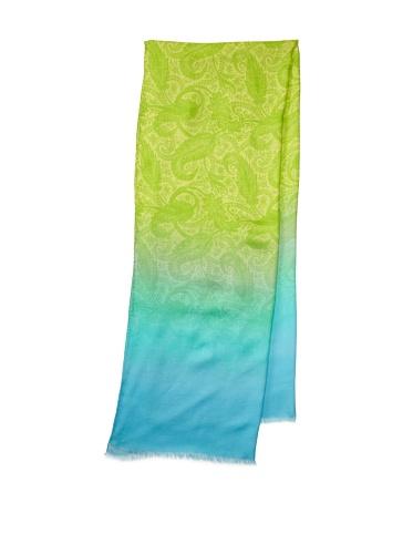 Jonathan Saunders Women's Paisley Scarf (Apple/Turquoise)