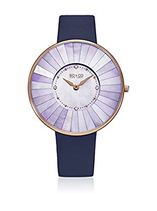 So & Co new York Quarzuhr Woman Mosaic Mother Of Pearl Lined Dial Ultra Slim 38.0 mm