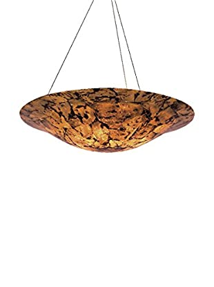 Varaluz Big 5-Light Pendant, Chocolate Tiger Shell