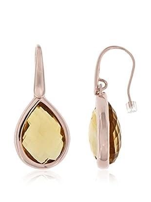 Belrose Ohrringe  vergoldete Bronze 18 Karat