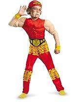 Child Hulk Hogan Costume As Shown/Boys Small (4-6) AD