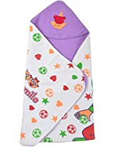Star Collections Polyresin Cap Blanket (91 Cms X 71 Cms)