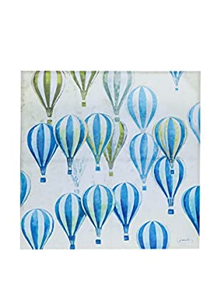 Novità Home Leinwandbild Hot-Air Baloon