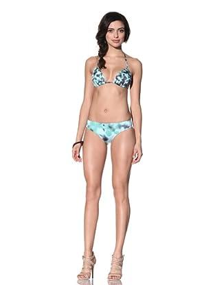 Cosabella Women's Camouflage Push-Up Bikini Top (Bahia)
