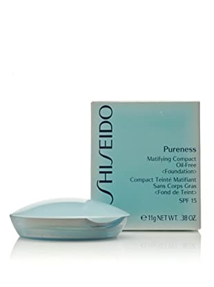 SHISEIDO Base De Maquillaje Compacto Pureness Compact Oil-Free N°20 Light Beige 11 g Light Beige