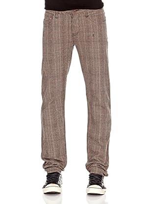 Pepe Jeans London Pantalón Hatch 3 (Marrón Oscuro)