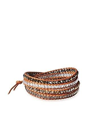 Chan Luu Bronze Shade Mix Wrap Bracelet