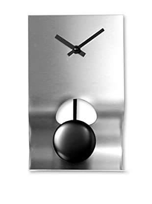 NeXtime Bend Table Clock (Silver)