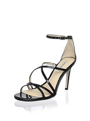Charles David Women's Morgan Sandal (Black Patent)