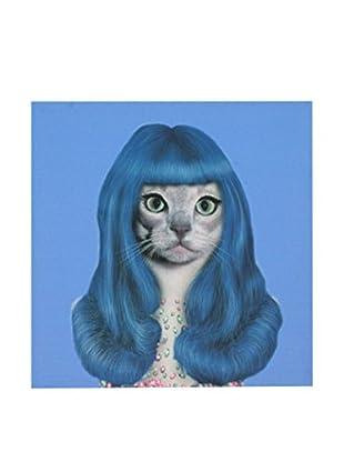 LO+DEMODA Leinwandbild Blue Gaga