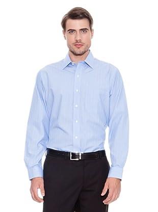 Brooks Brothers Camisa Vestir Robert (Azul / Gris)