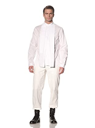 Ann Demeulemeester Men's Double-Button Front Shirt