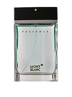 MONTBLANC Eau De Toilette Uomo Presence 75 ml