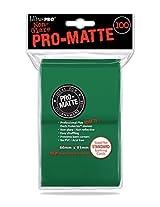 100 Ultra Pro Green PRO-MATTE Deck Protectors Sleeves Standard MTG Pokemon