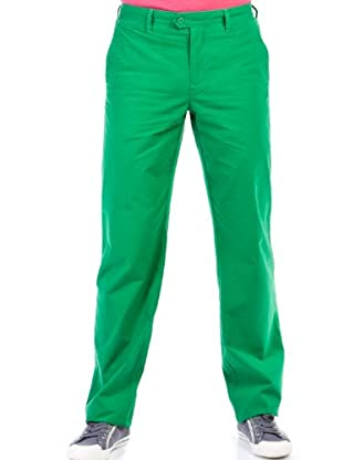Cortefiel Pantalón Sport Color (Verde)