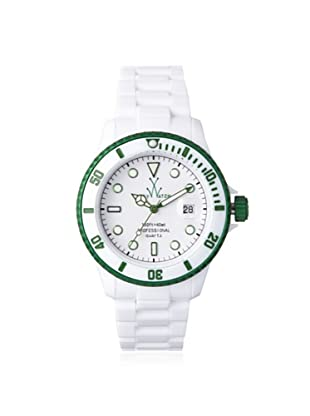 ToyWatch Women's FLA01WHGR Fluo Green/White Watch