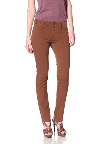 DL 1961 Premium Denim Women's Samantha Slim Straight Leg Jeans (Willow)